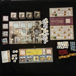 Nations The Dice Game solo play boardgames bgg boardgame boardgamegeekhellip