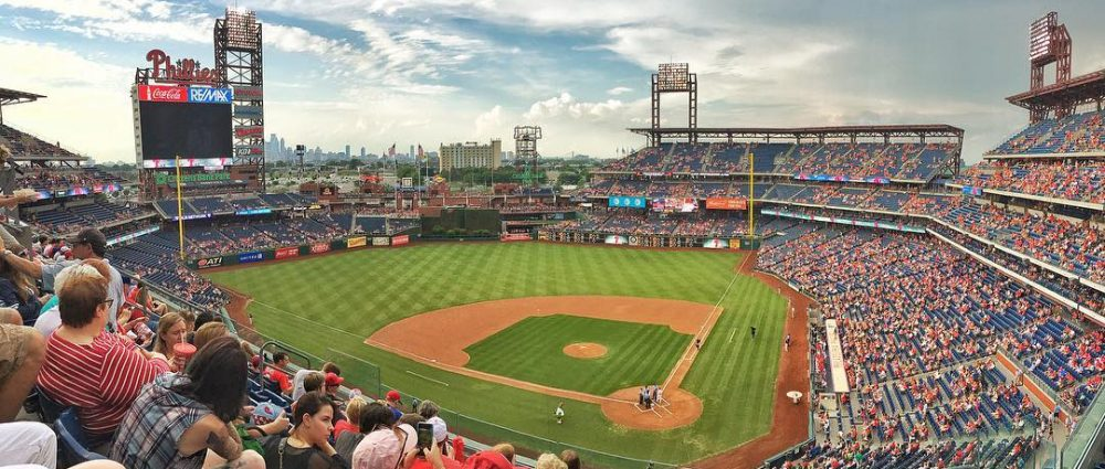 In #Philadelphia earlier this month. #baseball #phillies